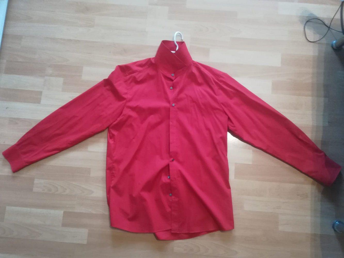 9ee5b26c612b Olymp - Rotes Hemd    Kleiderkorb.de