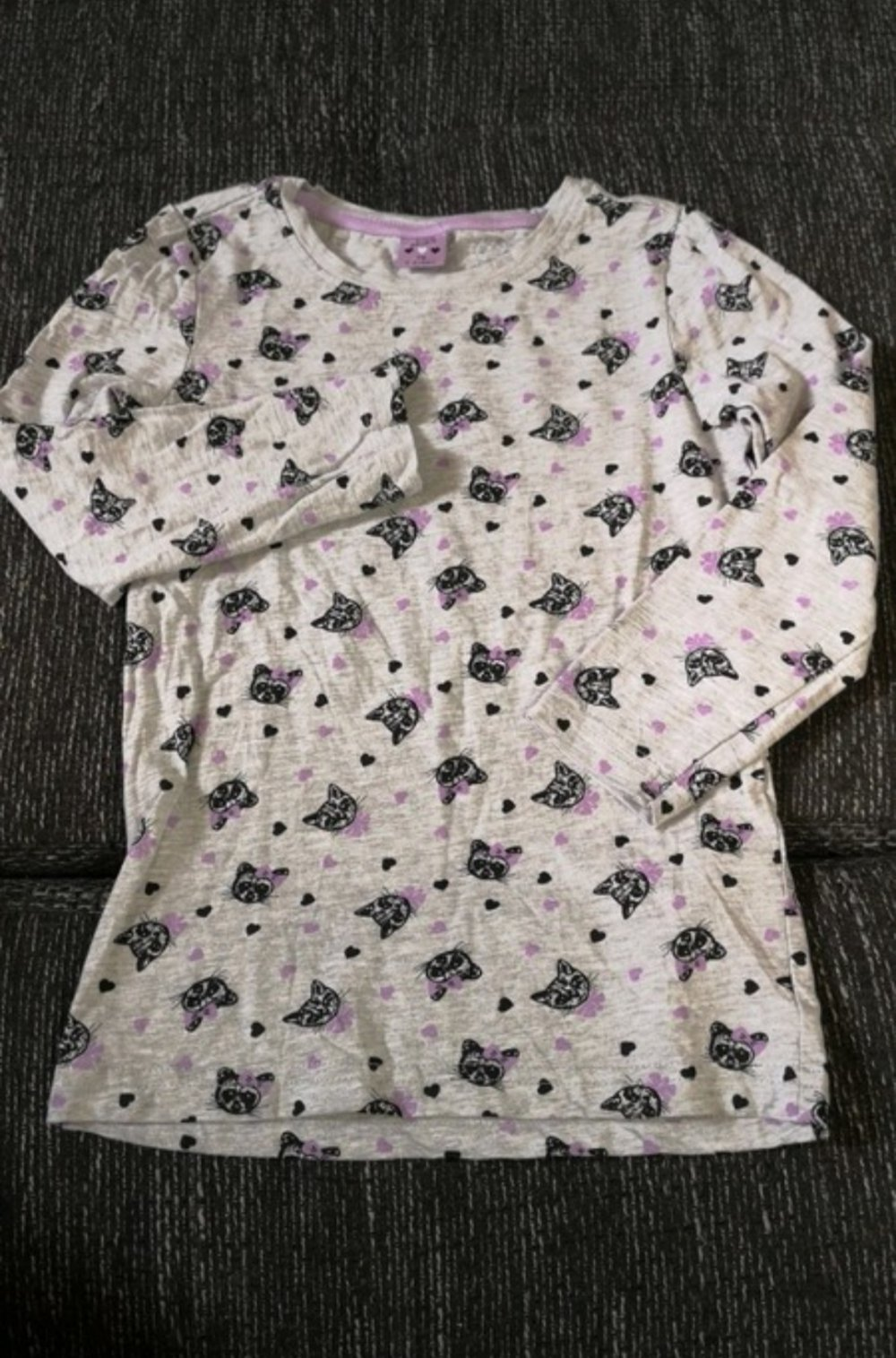 3d090143facb9 Kiki & Koko - Langarm Shirt Mädchen Katzen Waschbär :: Kleiderkorb.de