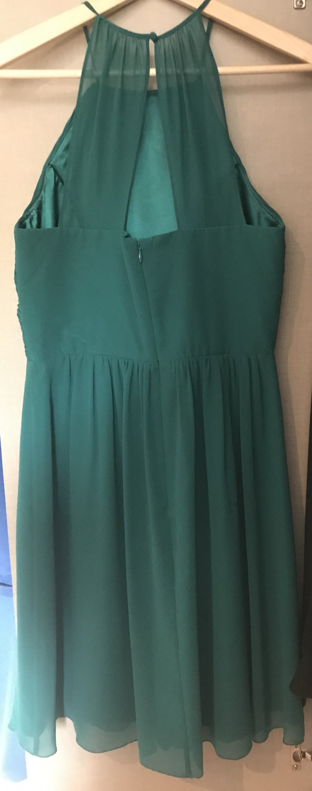 grünes kleid (weihnachten/silvester)