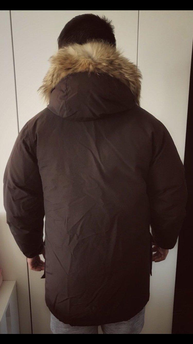 buy online 470d9 ea8ad *WOOLRICH Parka ARCTIC* Original S Mantel Jacke Winter Daunen Winterjacke  Herren Wintermantel