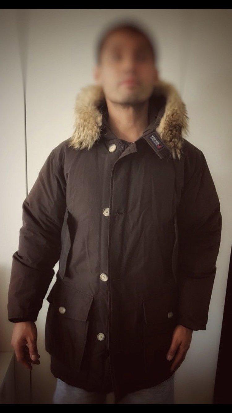 buy online a2d7e 43890 *WOOLRICH Parka ARCTIC* Original S Mantel Jacke Winter Daunen Winterjacke  Herren Wintermantel