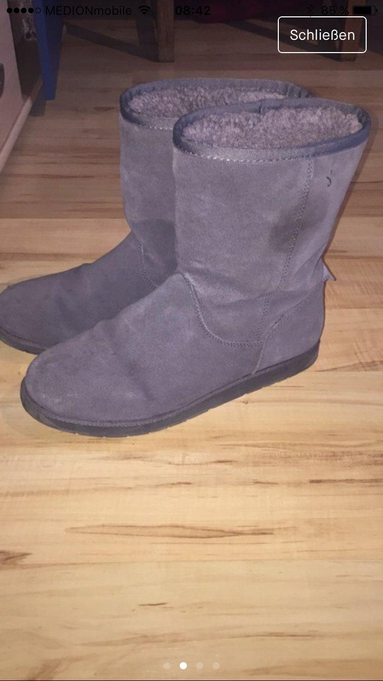Emu Boots grau violett 40