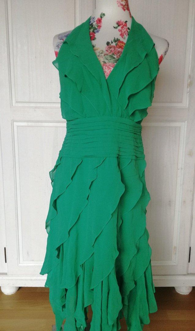 317691573493bf Neuwertig* Schönes grünes Neckholder Kleid S 36 :: Kleiderkorb.de