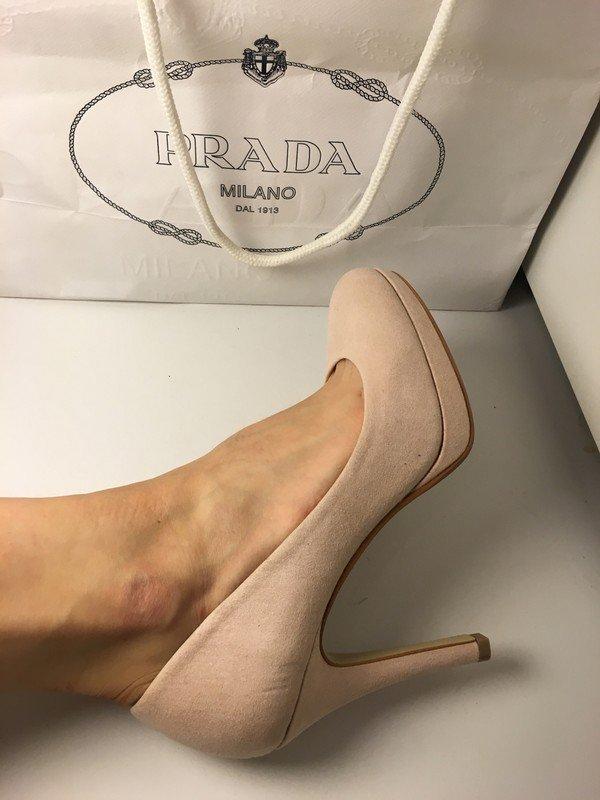 High Heels in rosa, neu, kein Mal getragen, Absatz ca. 8 10