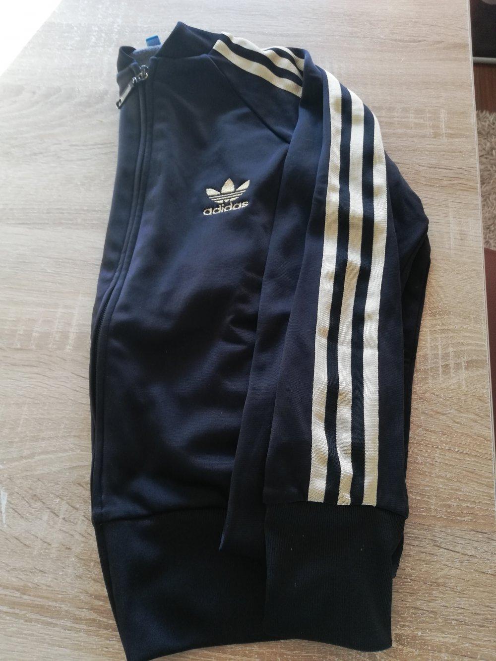Adidas Jacke Weste SchwarzGold S