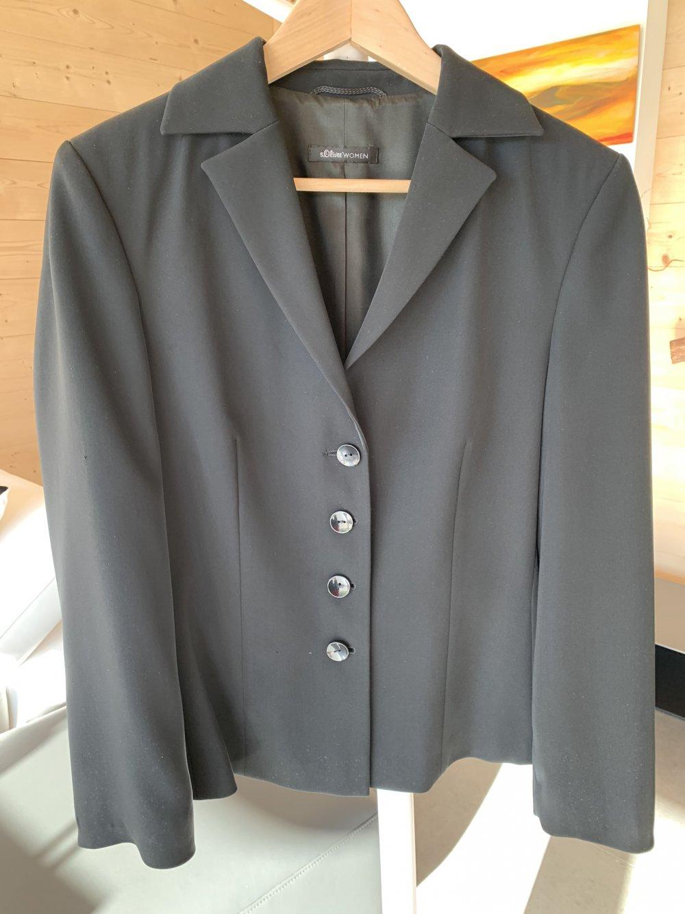 eleganter damen-anzug, business suit, abendgarderobe