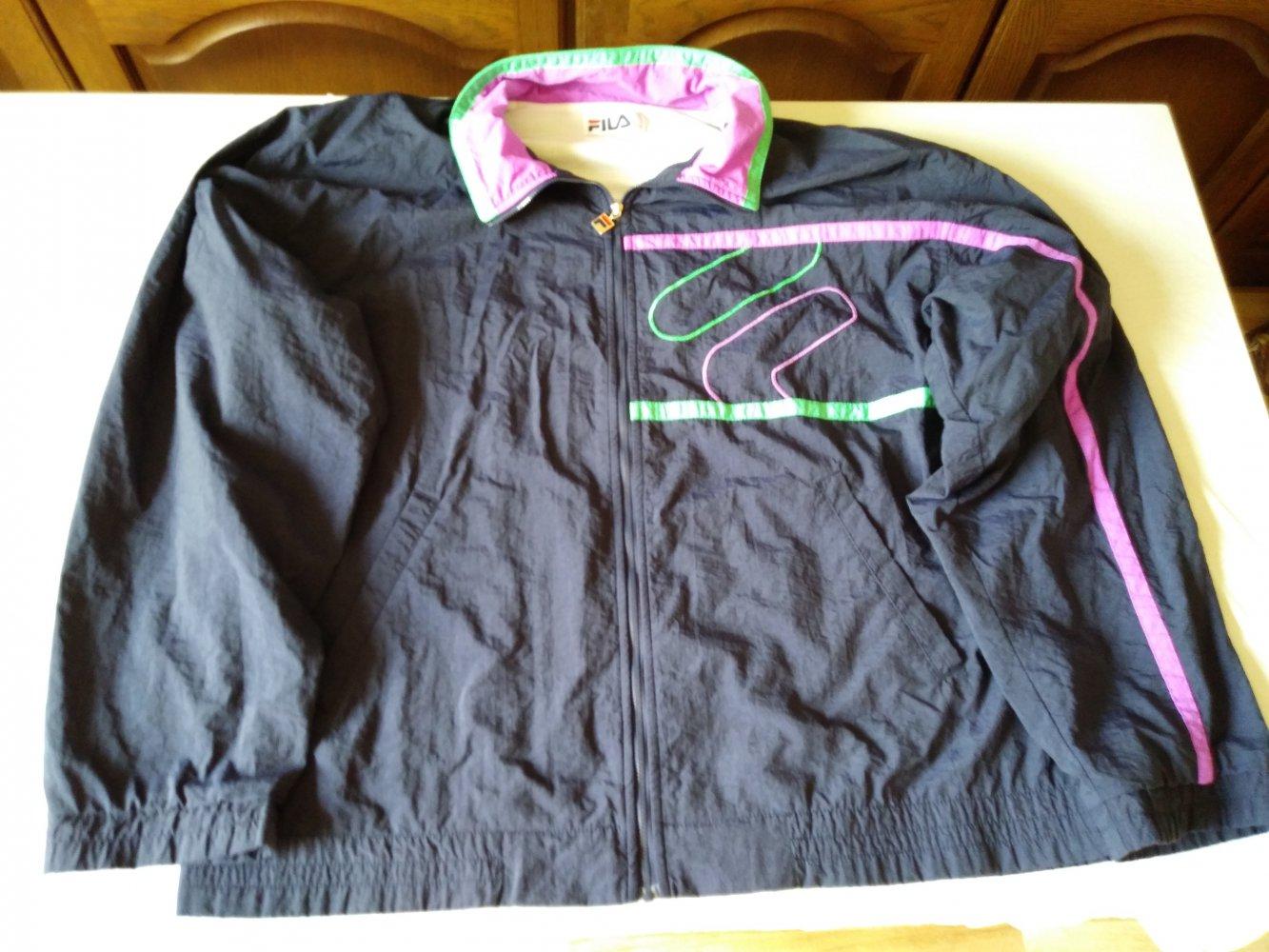 Original Fila Trainingsanzug Tracksuit Vintage Oldschool wie Neu XL Retro