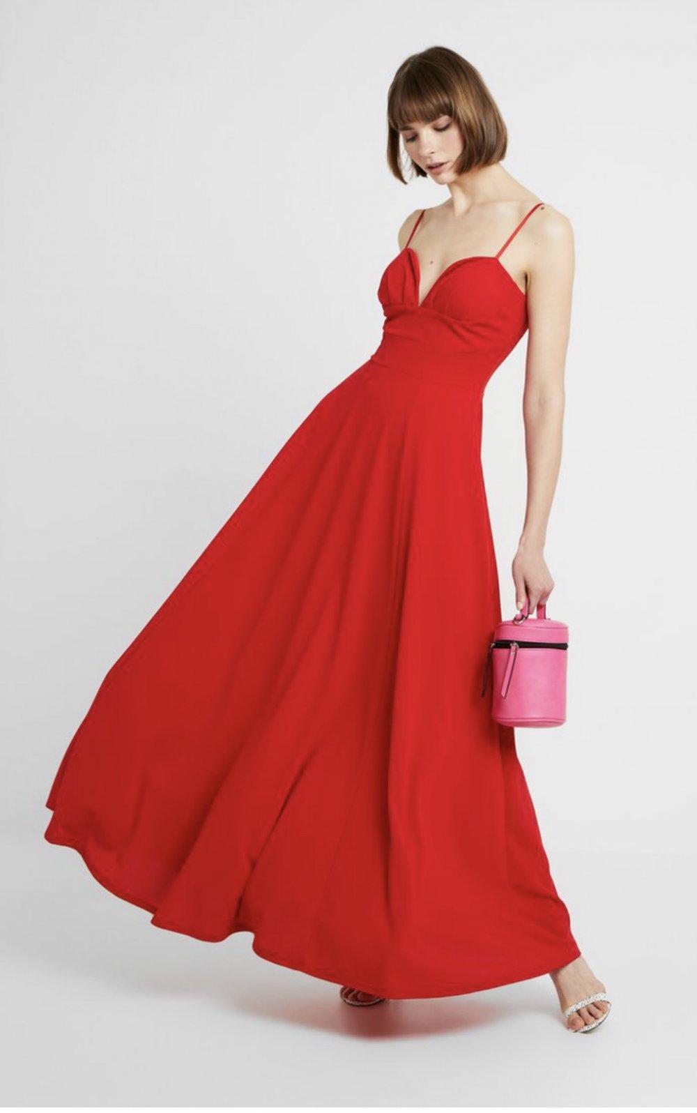 Rotes Abendkleid/Ballkleid