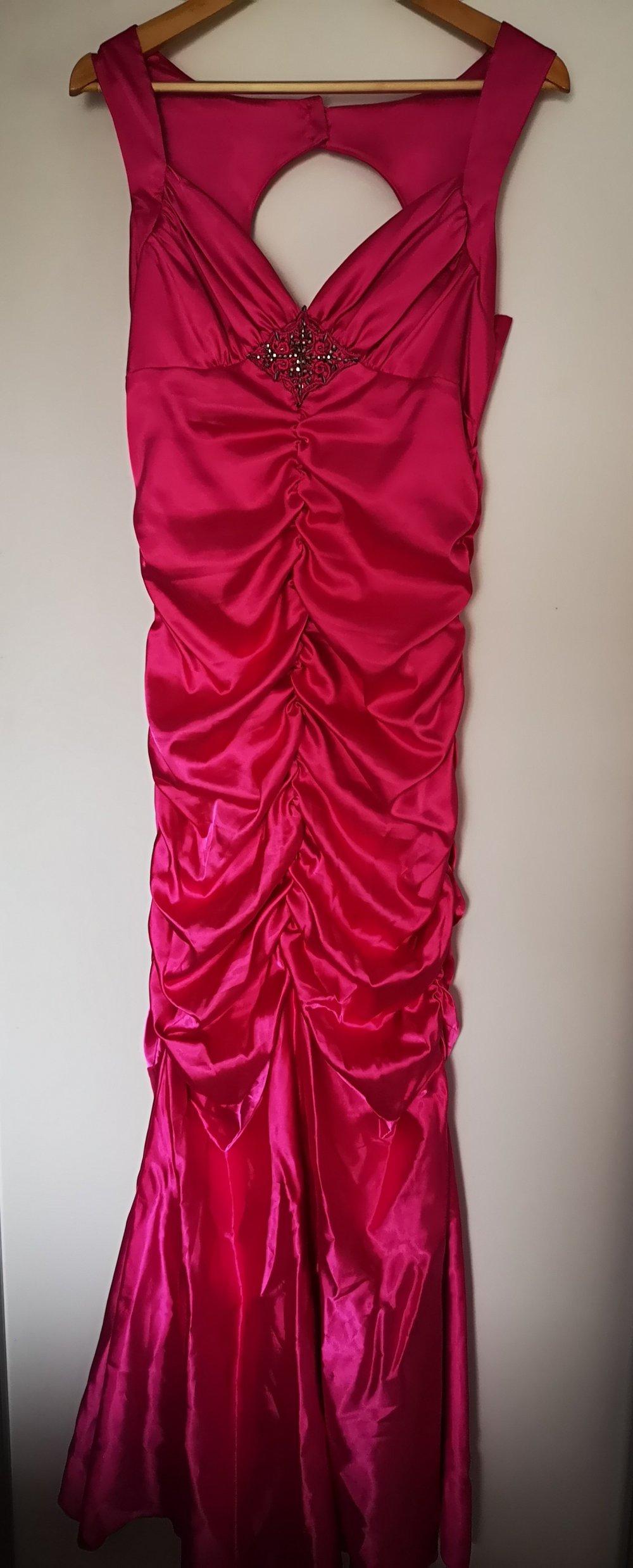 Meerjungfrauen Kleid in Pink