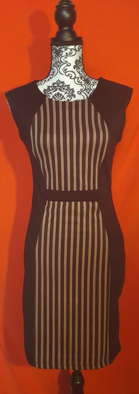 kleider elegantes kleid strickkleid gr 46 etuikleid schwarz