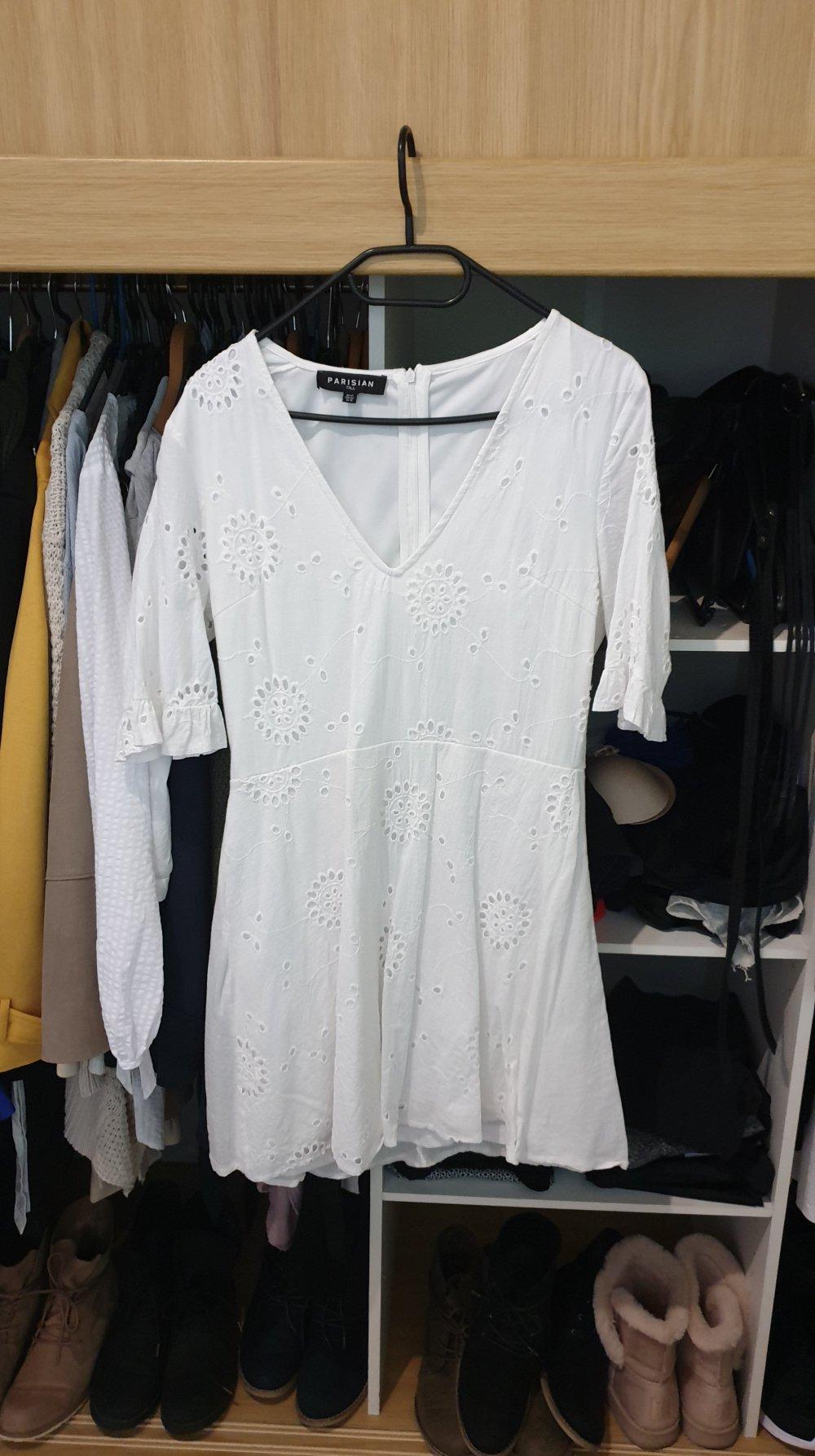 weißes kleid von asos