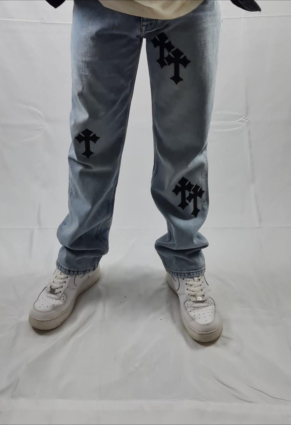 asos   Custom Chrome Hearts Jeans  Kleiderkorb.de