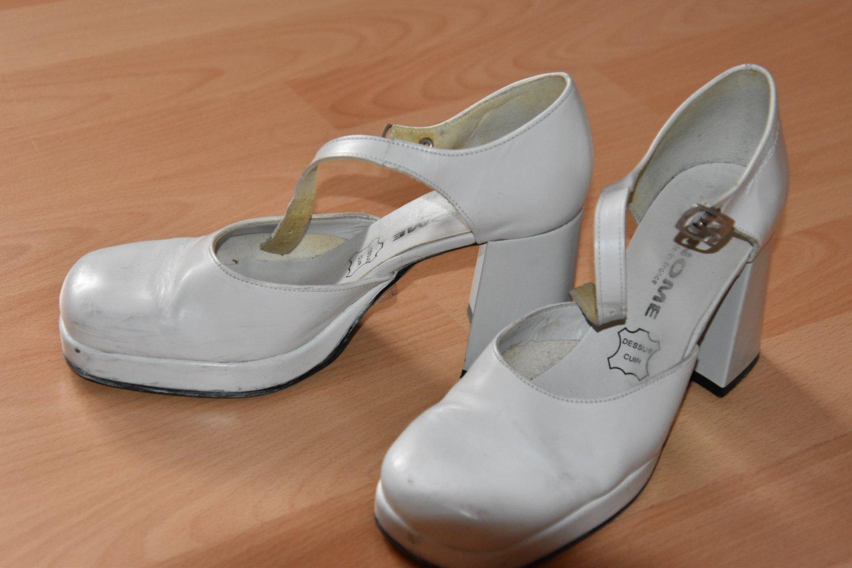 separation shoes 3b4fc 2e587 Brautschuhe mit breitem Absatz