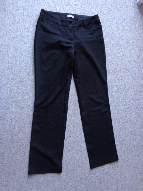 Damen Anzughose In Schwarz Mit Streifen 40 Orsay Damenmode