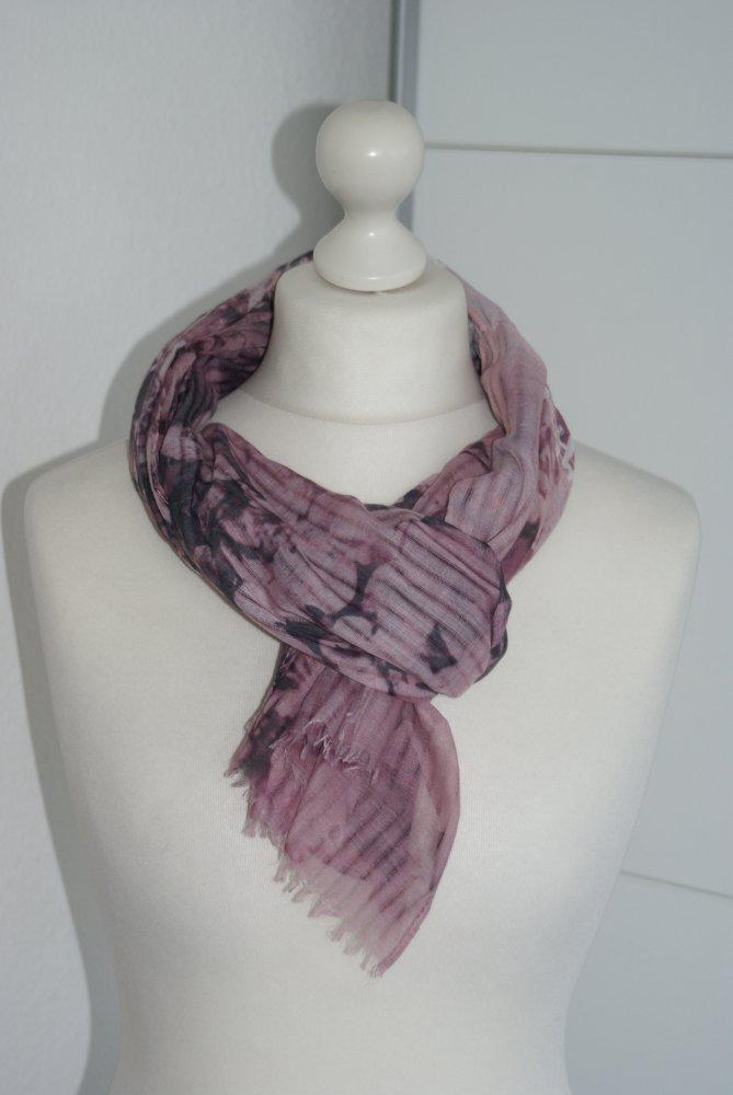 78bb096da0d4c3 sonstige - Tuch Schal rosa schwarz :: Kleiderkorb.de