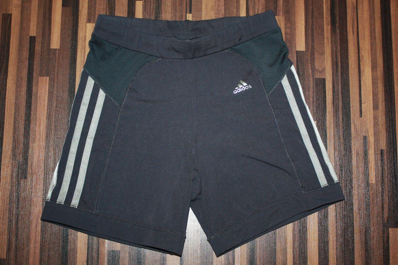 adidas Damen Highwaist Shorts Kurze Hose Sport & Freizeit
