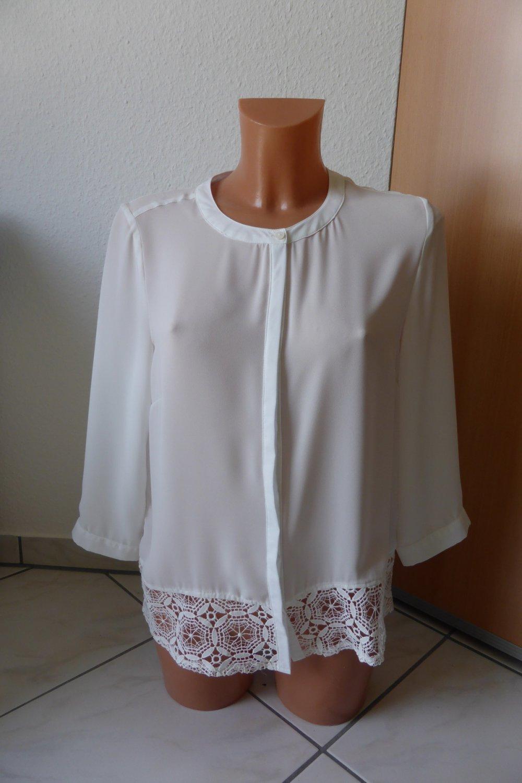 manguun - Bluse von Manguun mit Spitze    Kleiderkorb.de 37371b76f0