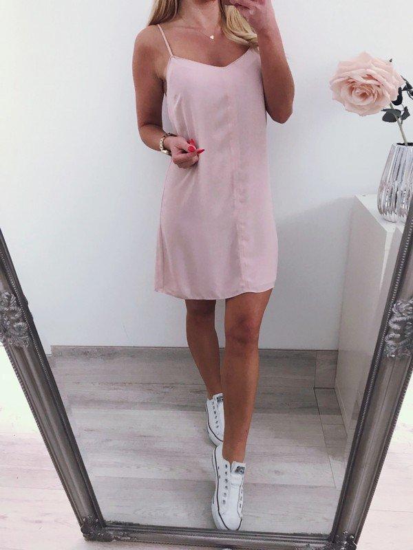asos sexy dress klied nude rosa partykleid :: Kleiderkorb.de