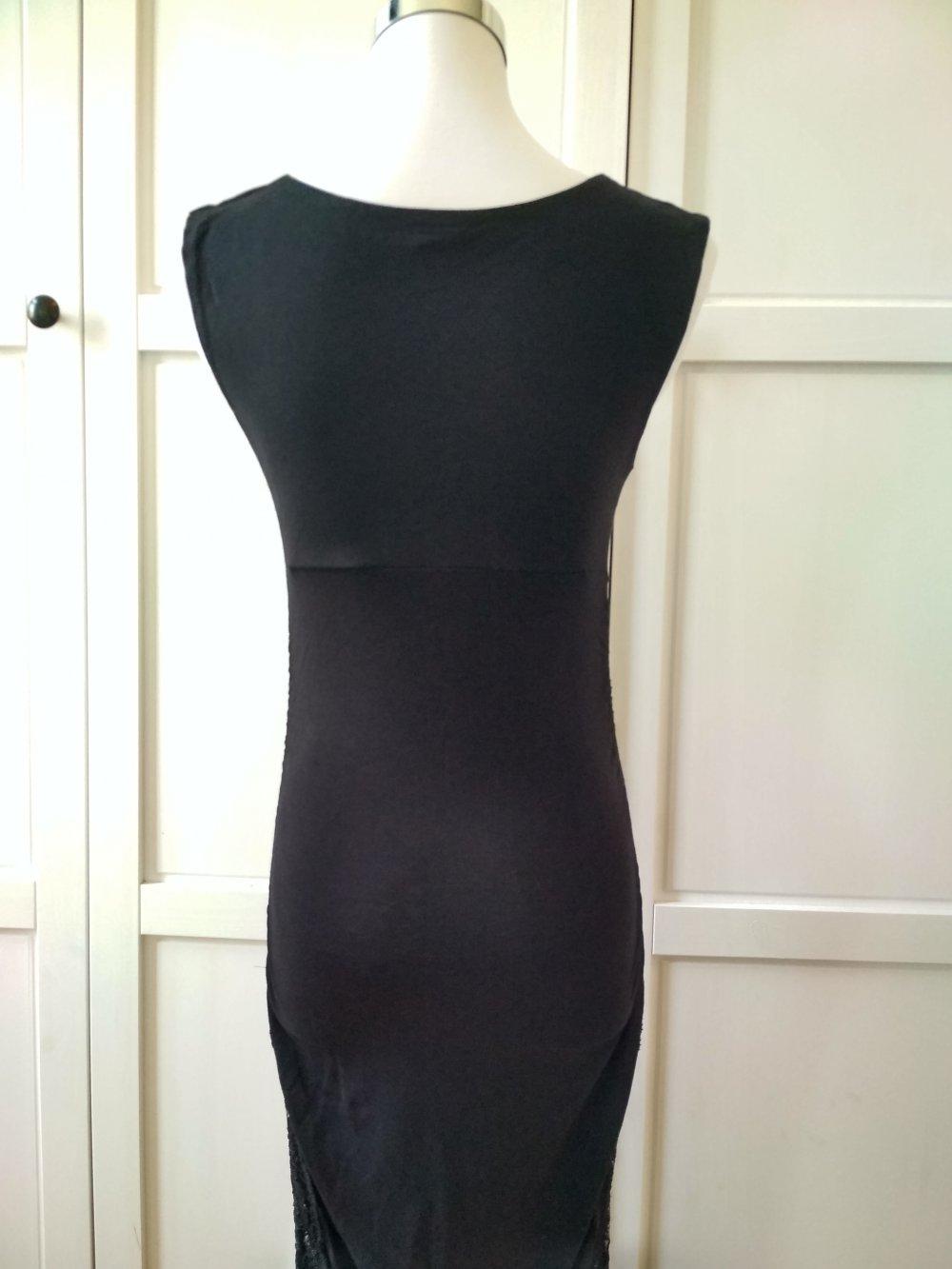 Bon Prix Kleid Gr. 16/16 Minikleid Abendkleid Cocktailkleid Stretchkleid
