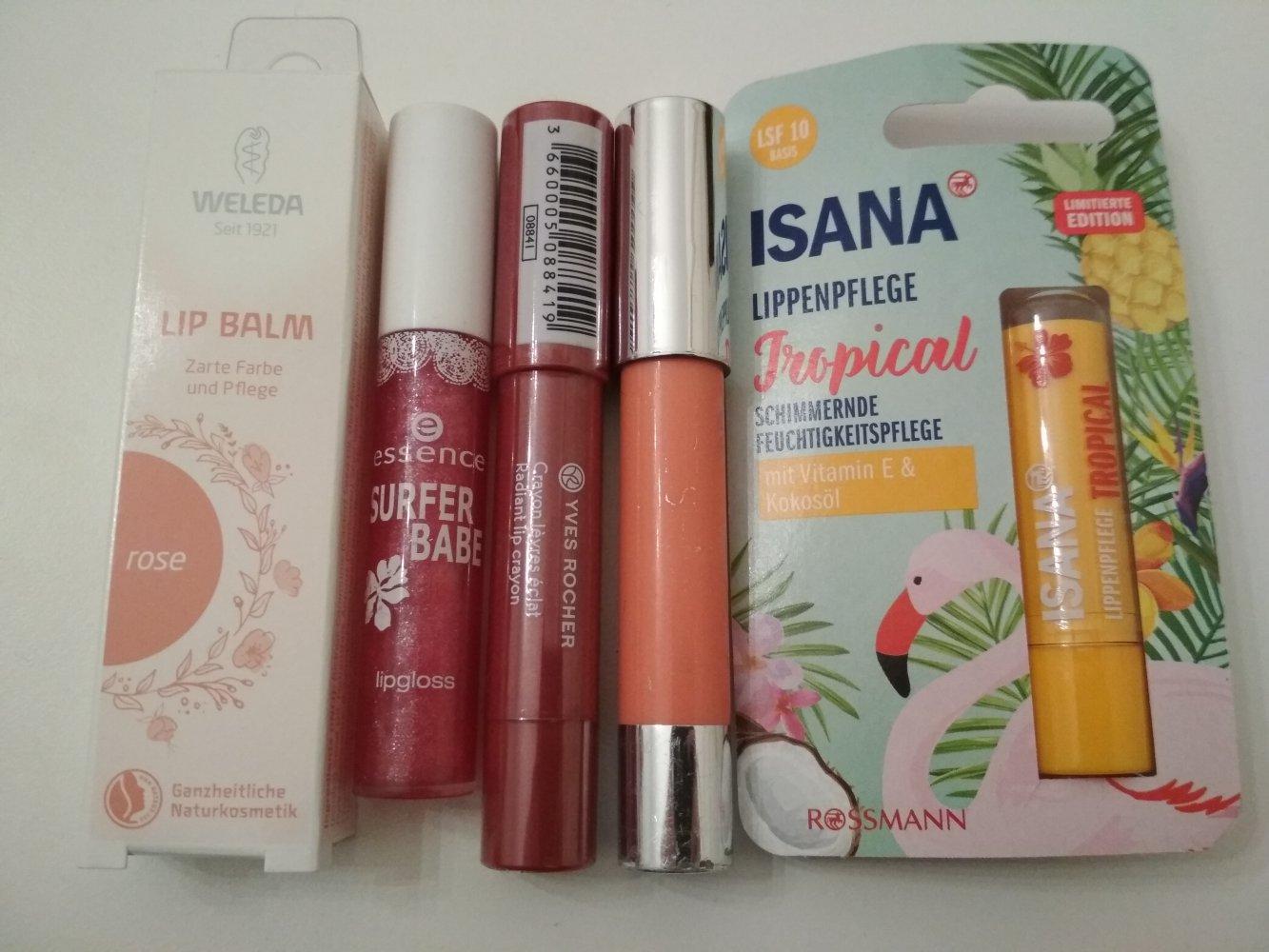 Kosmetik Make Up Set Isana Essence Weleda Yves Rocher Catrice