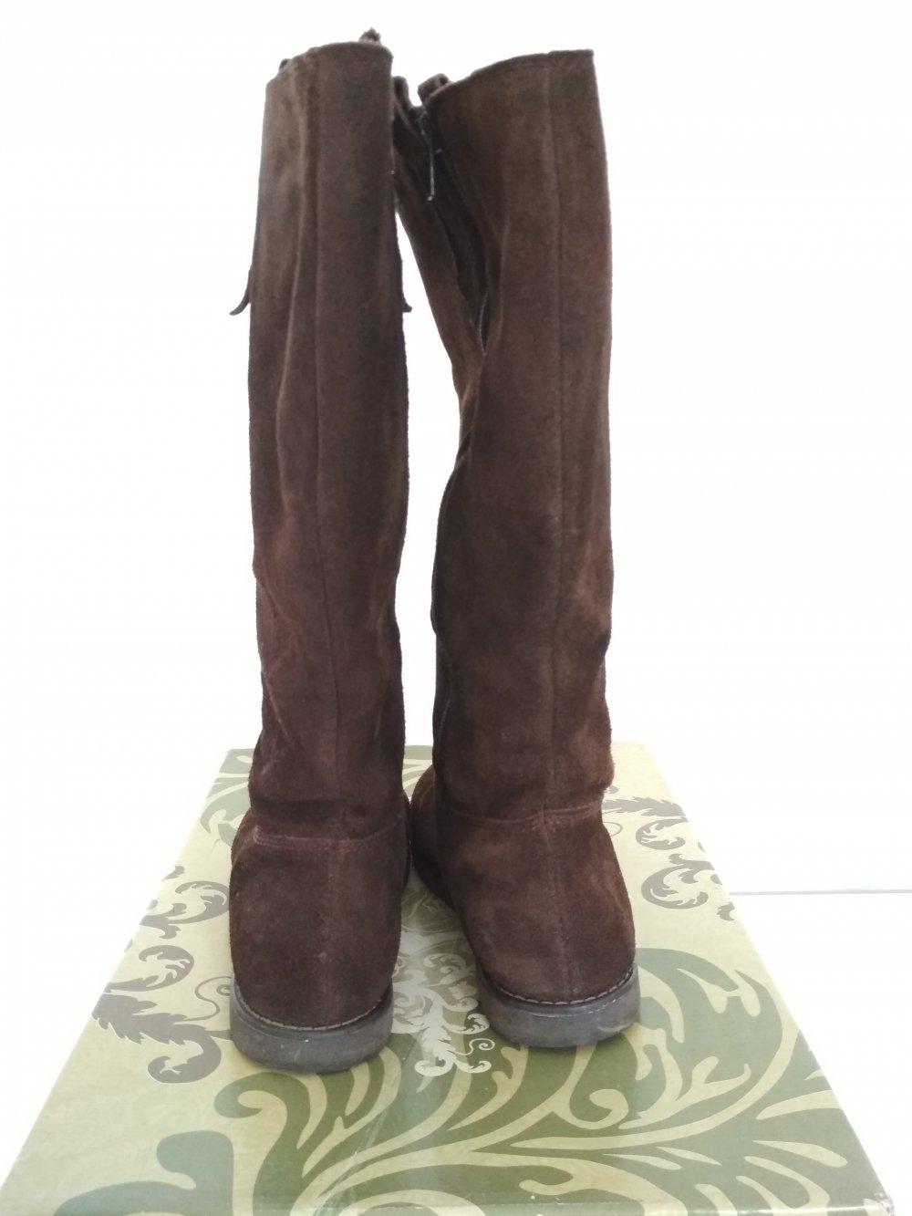 Limelight Stiefel Gr. 38 braun Rauleder Boots