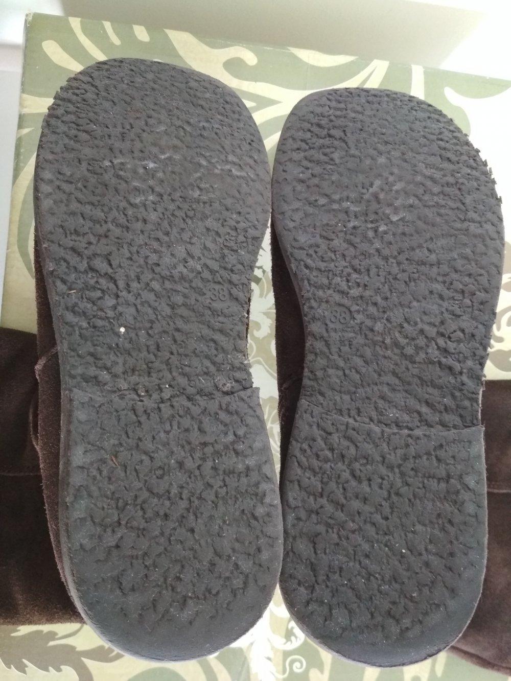 Stiefel Gr38 Rauleder Boots Limelight Braun yvwN0m8On