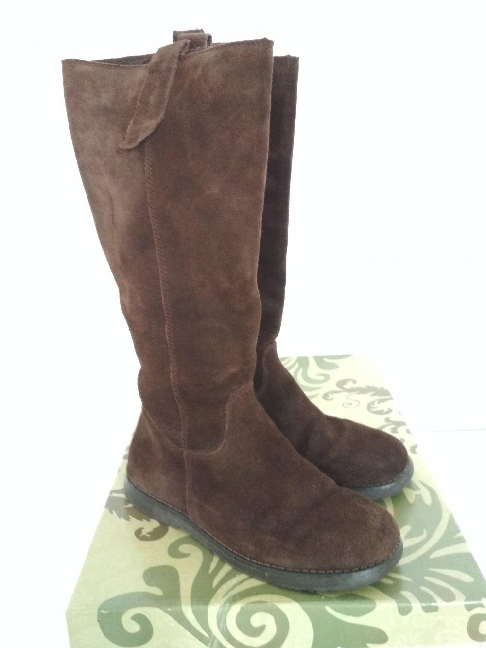 newest 21083 af984 Limelight Stiefel Gr. 38 braun Rauleder Boots