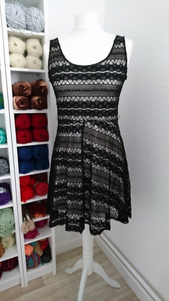 4ec6e1b2ad4c30 Julie - Kleid schwarz /nude 38 :: Kleiderkorb.de