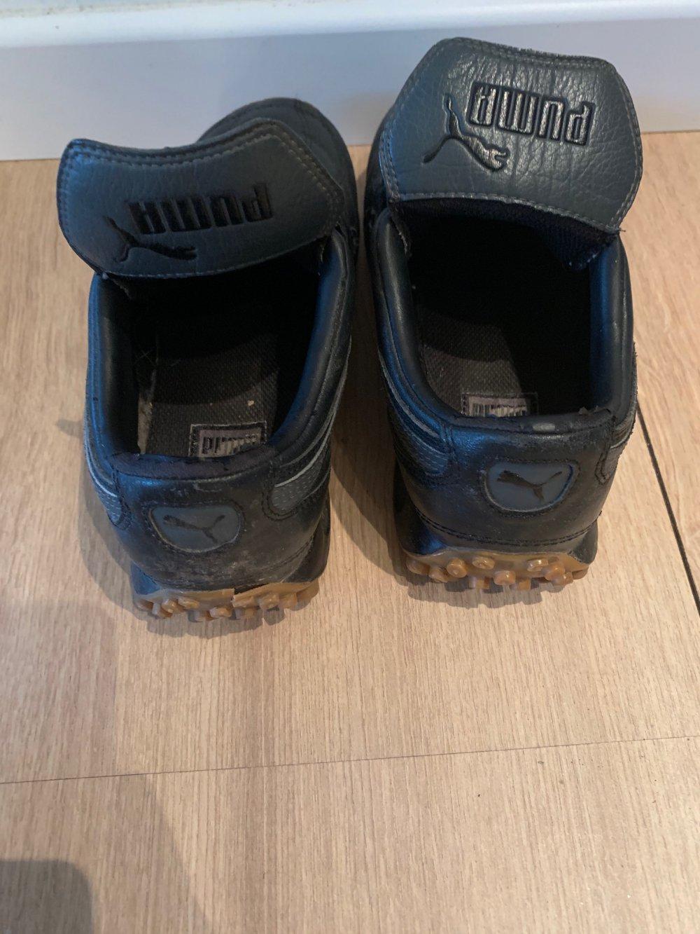 Puma Sneaker Größe 37 schwarz schwarze Schuhe Turnschuhe