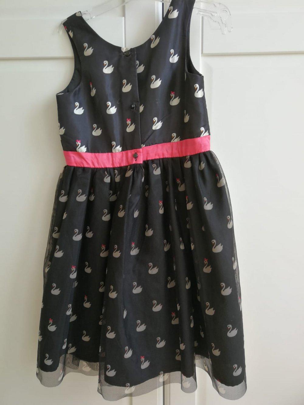 361ca9529489 Festliches Kleid 'Schwan' in Gr. 128 von H&M