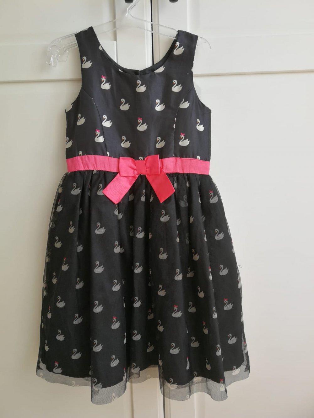 heißer Verkauf online bis zu 80% sparen angemessener Preis Festliches Kleid 'Schwan' in Gr. 128 von H&M