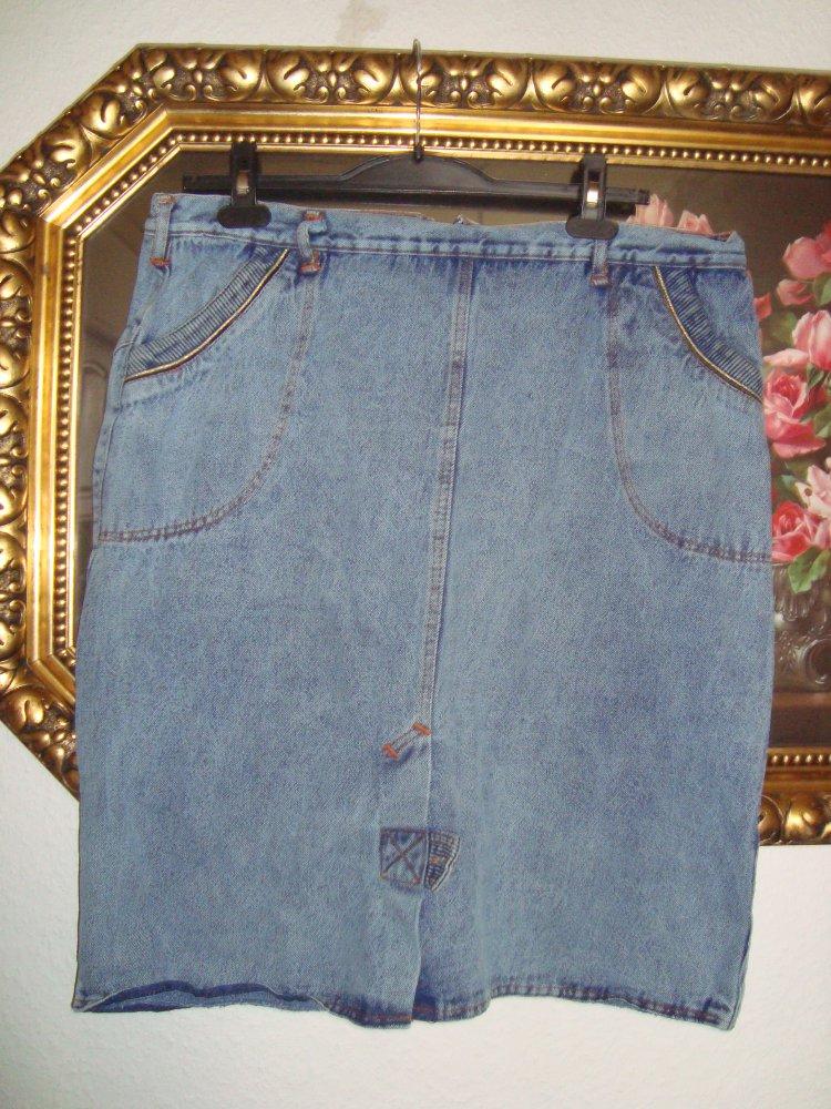 buy online 38283 1f761 Vintage High Waist Jeansrock - Gr.46