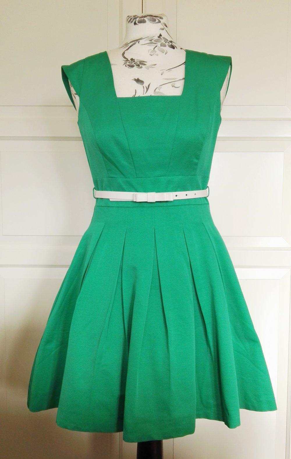 Grünes Kleid von Orsay    Kleiderkorb.de 7733e65961