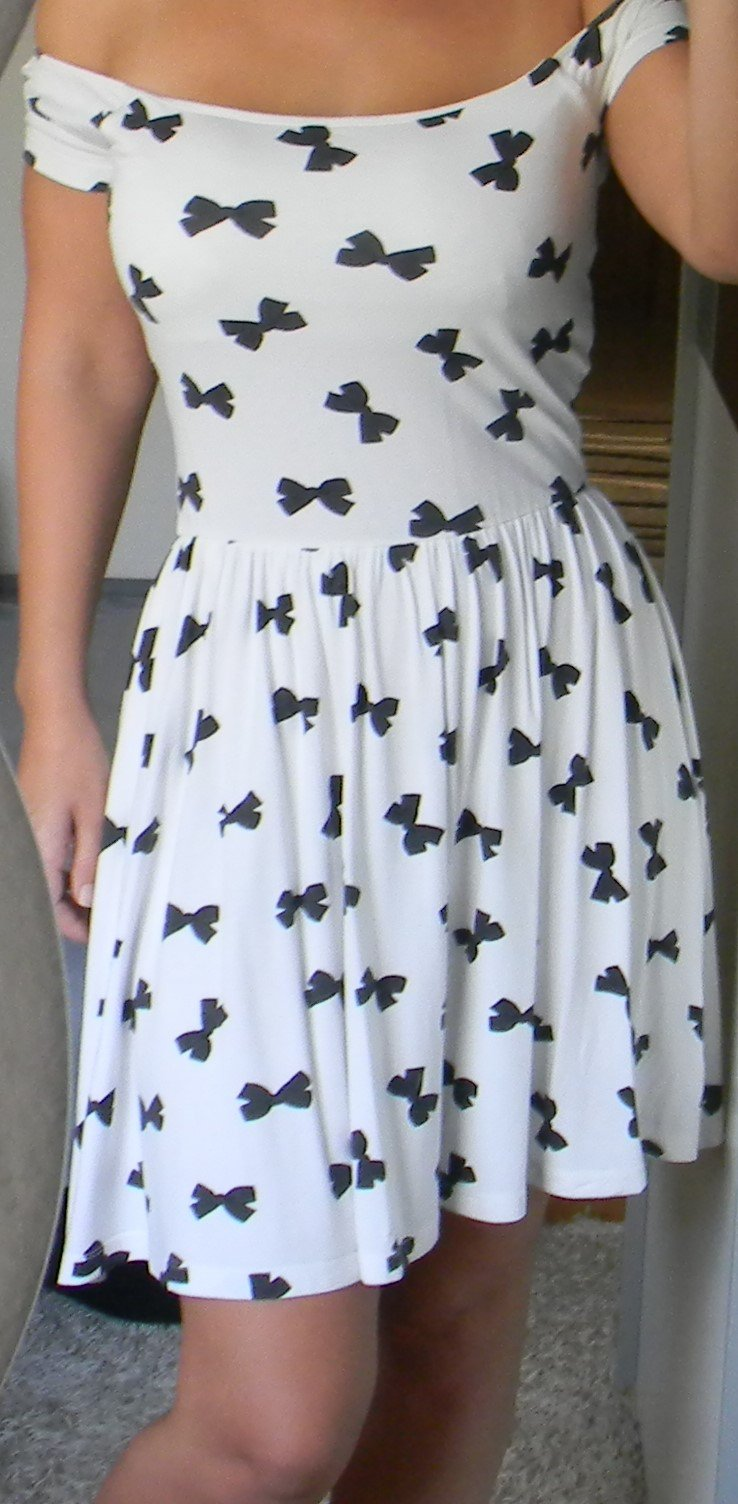 asos - Asos süßes Off Shoulder schulterfrei Kleid ...