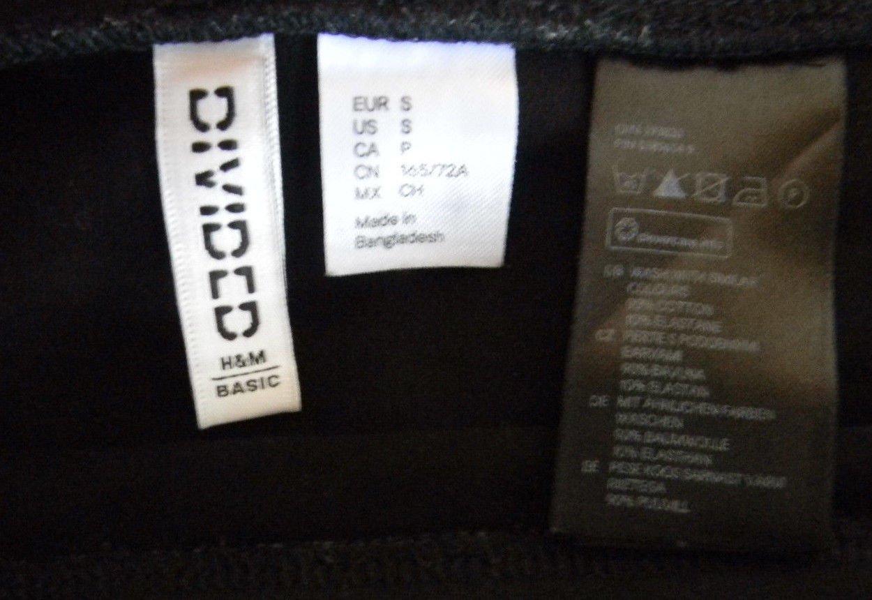 209e8bf7e935 H&M Basic Rock in schwarz Minirock mini Rock kurz Schlauchrock Minirock gr.  36 S,38