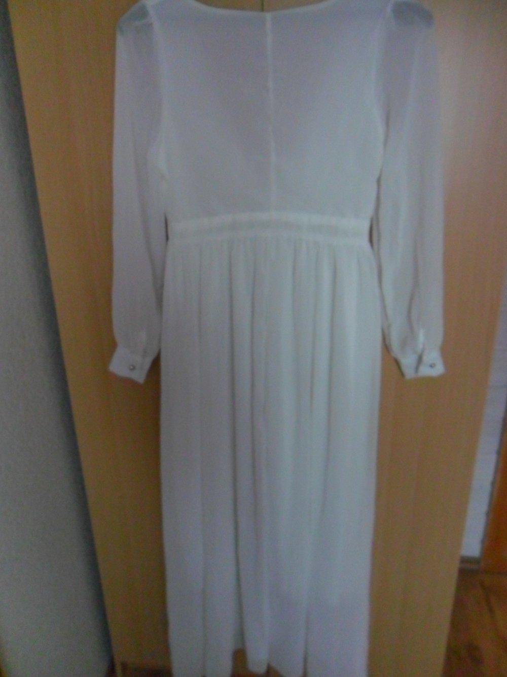 detailed look 41765 daf5f Festliches weißes Kleid Gr. 34/36