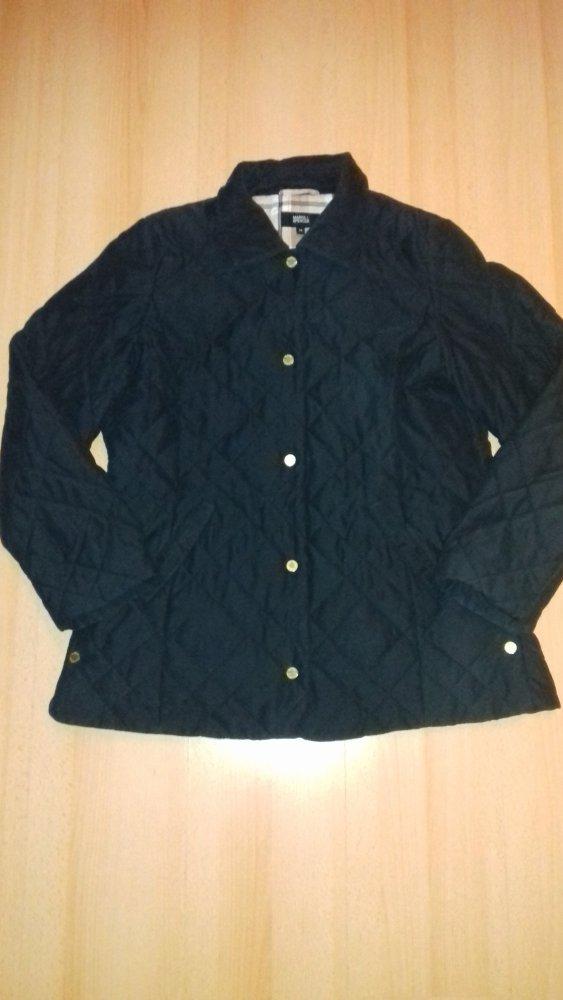 MARCO PECCI DAMEN Jacke, schwarz, gesteppt, Größe 40 EUR