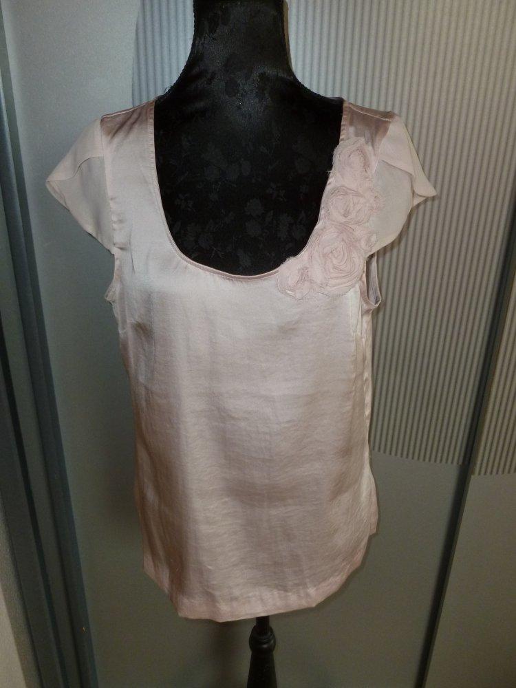 Bluse Shirt Rosa Hm Kleiderkorbde