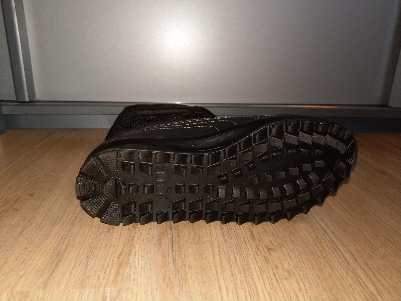 Winterstiefel Schuhe schwarz gefüttert Puma    Kleiderkorb.de f540fb251f