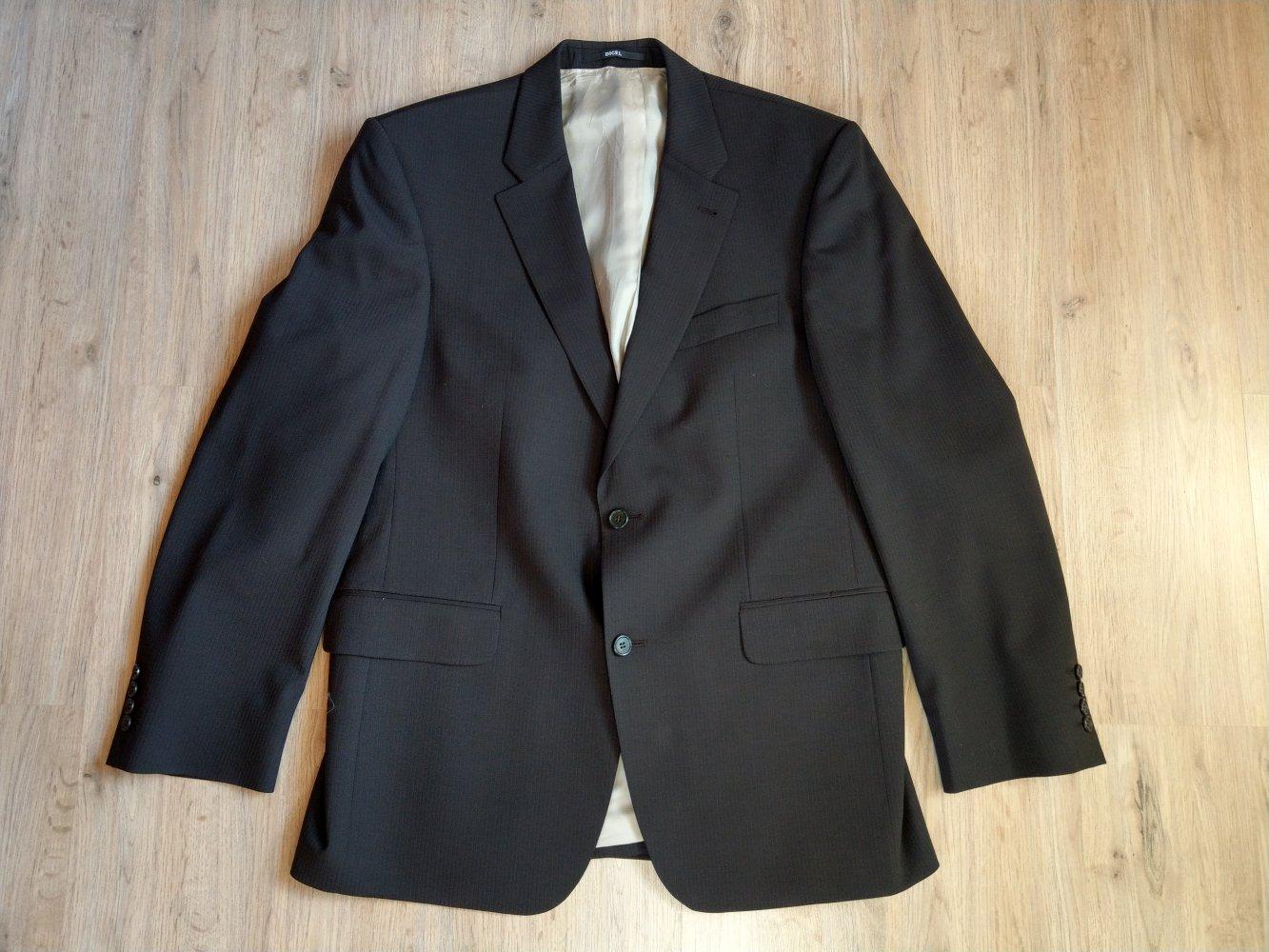 Anzug dunkelbraun Sakko Anzughose Digel