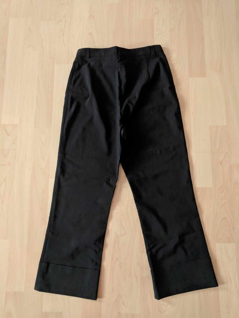 Weiss mit schwarzem Boden spleissend doppellagig Design Fliege fuer Maenner B6Q4