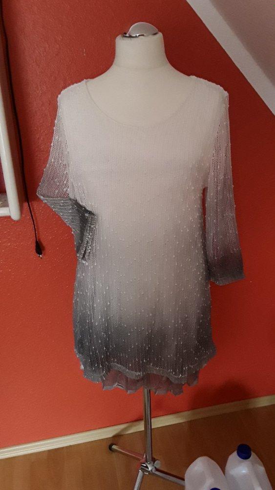 Rita Pfeffinger HSE24 Pullover Lagenlook Shirt Longshirt