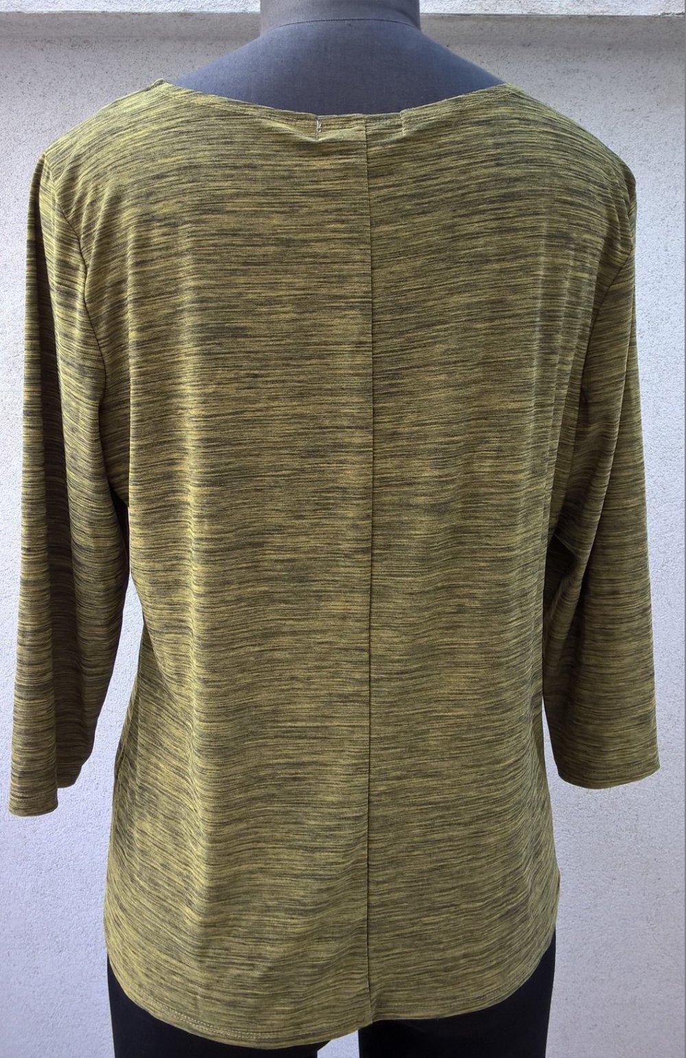 11ddc4ee5440c OBERTEIL SHIRT BLUSE LANGARM Gr. 38 Gr. 40 von Vintage Suzie Vintage Retro  60er 70er Optik