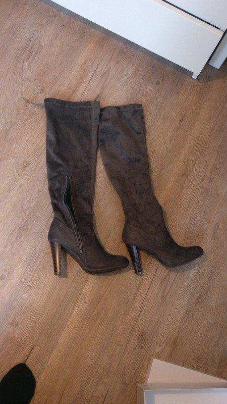 Abschluss Geschenk Tamaris Overknee Stiefel gr 39 Schuhe