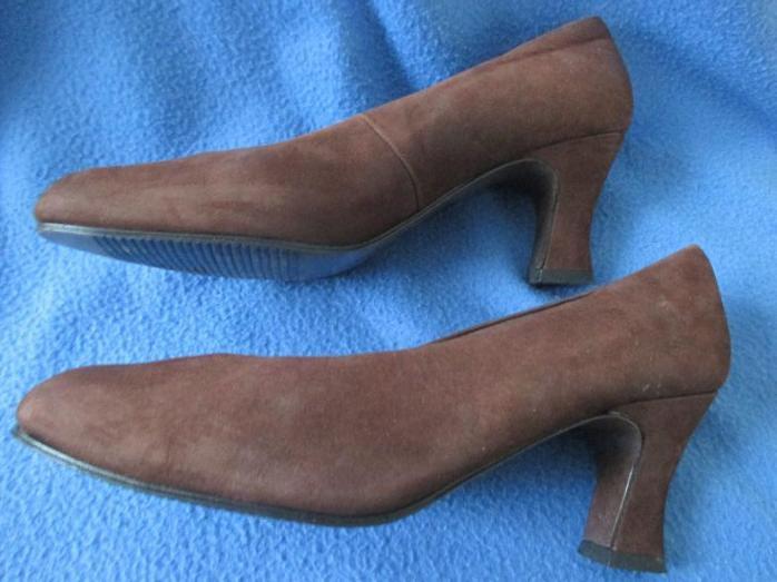 RIEKER PUMPS DAMEN High Heels Stiletto Gr. DE 36 Leder braun