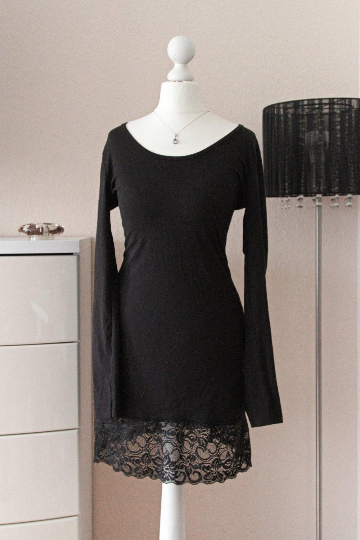 schwarzes elegantes kleid von zalando xs