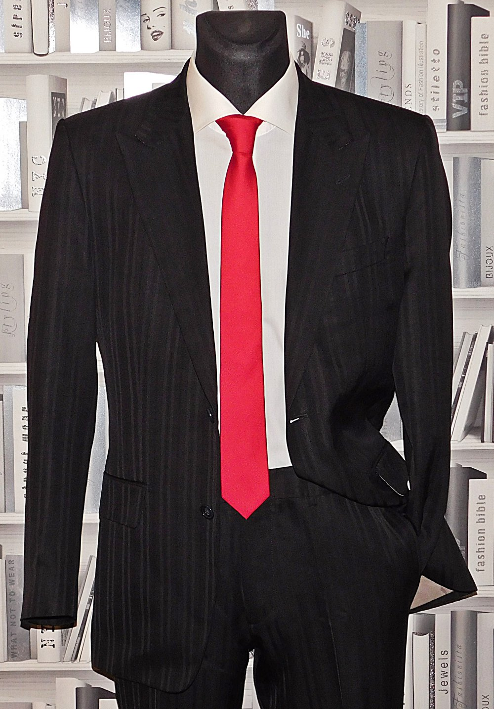 HUGO BOSS RED LABEL Anzug 46 Sakko Hose Hochzeit
