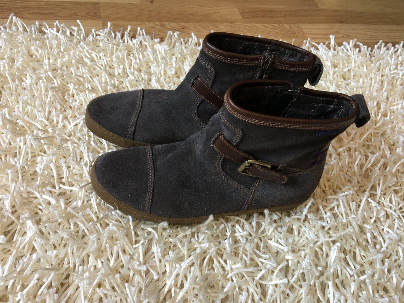 Mexx Stiefeletten Stiefel 40 Kleiderkorb grau lila    Kleiderkorb 40  eba05a