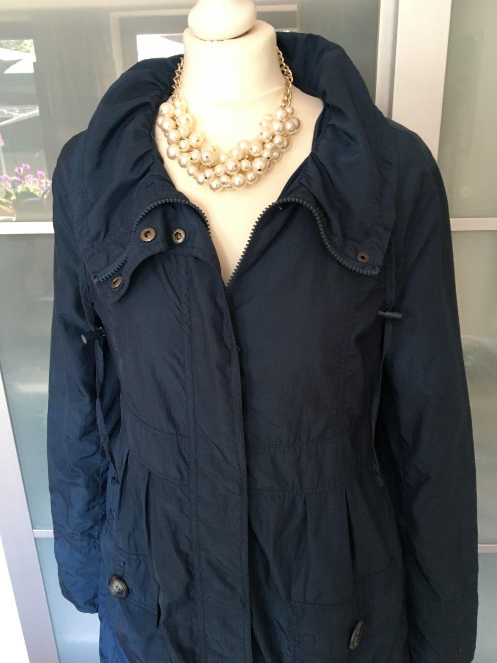 Mantel blau 38