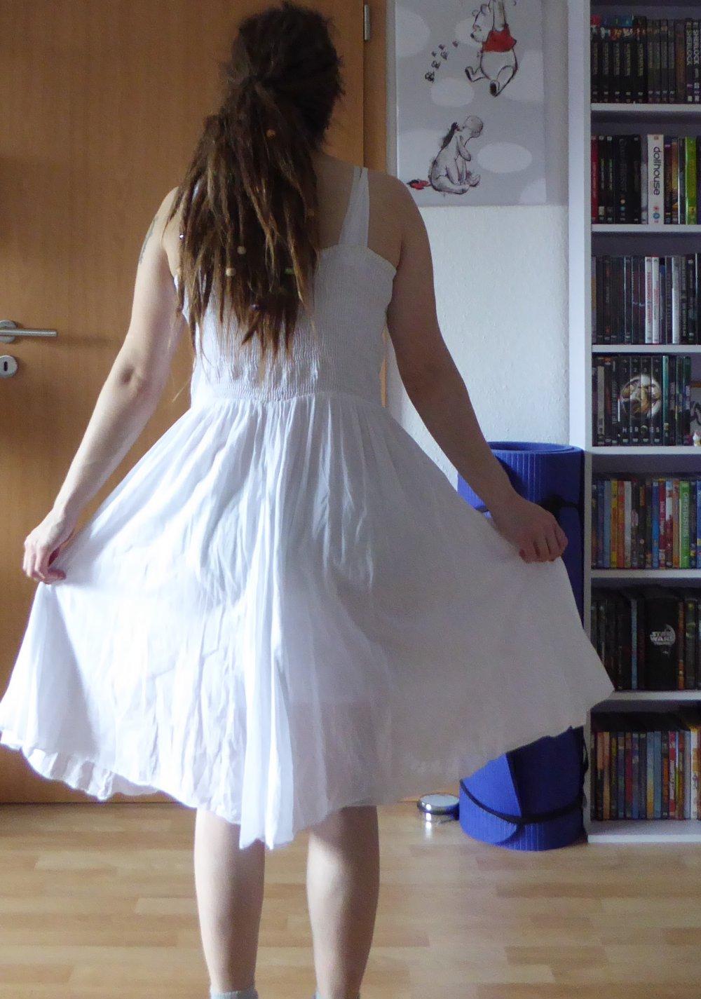 f903dedad74 ... Schönes Weißes Hippie Kleid